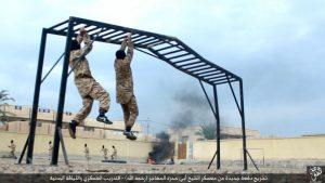 Daesh communique sur ses camps d'entrainement